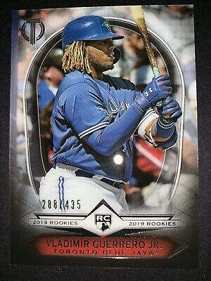 2019 Topps Tribute VLADIMIR GUERRERO Jr. /435 RC 19R-11 Rookie Acclimation