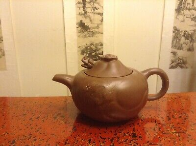 Chinese Old Yixing Purple Sand Pottery Teapot