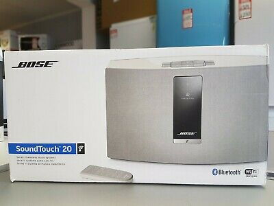 Bose SoundTouch 20 Series III Wireless Music System - White New & Sealed