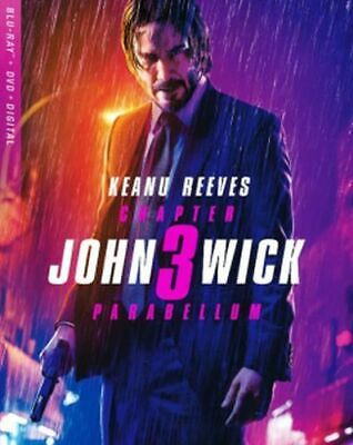 John Wick: Chapter 3 - Parabellum Blu-ray/DVD/Digital NEW Keanu Reeves