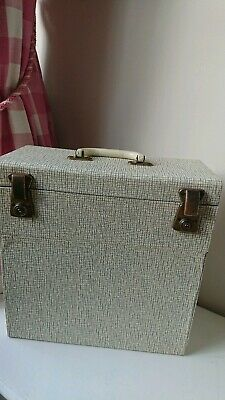 VINTAGE 50s/60s LP Winel Record Case - Excellent