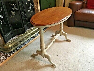 Victorian antique oval side/ occasional table, West Yorkshire