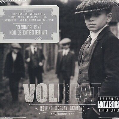 Volbeat - Rewind Replay Rebound 2CD Lim. Ed. Digipak NEW