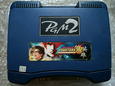 Slot NEUF IGS PGM2 PGM 2 Bleu Jamma + The King Of Fighters 98 Ultimate Match UM