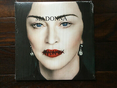 Madonna Madame X (2019) clear vinyl double LP
