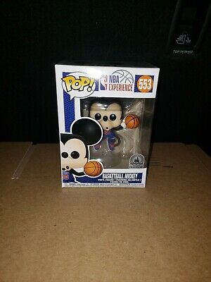 Funko Pop Mickey Mouse Basketball NBA Experience Exclusive Disney Park