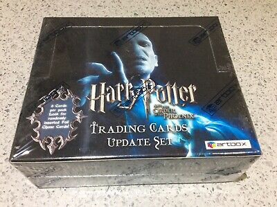 Harry Potter Order of the Phoenix ARTBOX TRADING CARDS UPDATE Sealed Retail Box