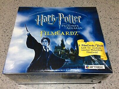 Harry Potter Prisoner of Azkaban ARTBOX FILMCARDZ TRADING CARDS - NEW/SEALED BOX