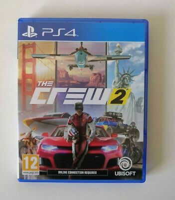 The Crew 2 PS4 SAME DAY Dispatch [Order By 3pm]