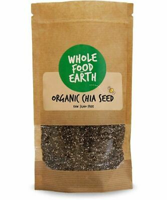 Wholefood Earth: Organic Chia Seeds | Raw | GMO Free 3kg