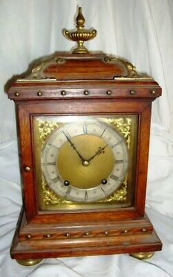 A 19Th Century Winterhalder  & Hofmeier, Quarter Striking, Fusee Bracket Clock