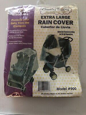 Comfy Baby Extra Large Rain Cover Plastic Stroller Cover Protector