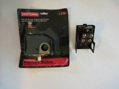 New Craftsman Pressure Switch for Jet and Submersible Pumps and Water Systems