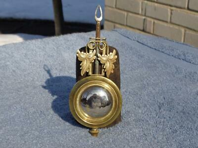 Brass Pendulum Parlor Kitchen Shelf Mantle Clock Gilbert Ansonia Gilbert Welch 2