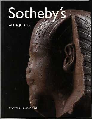 Sotheby's 2002 Ancient Greek Roman Gold Antiquties Marble Auction Catalog Book