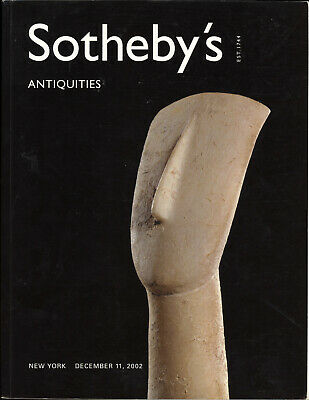 Sotheby's 2002 Ancient Greek Roman Gems Antiquties Archeology Auction Catalog