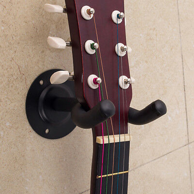 Guitar Hanger Hook Stand Holder Wall Mount Display Rack Acoustic Electric Bass