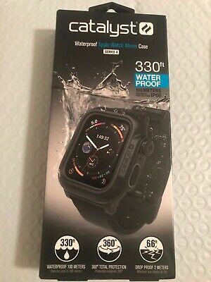 Catalyst - Protective Waterproof Case for Apple Watch Series 4 - (44mm) - Black
