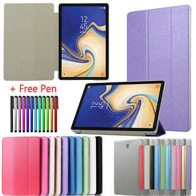 Smart Magnetic Leather Case Cover Stand For Samsung Galaxy Tab A S2 S3 S4 S5e