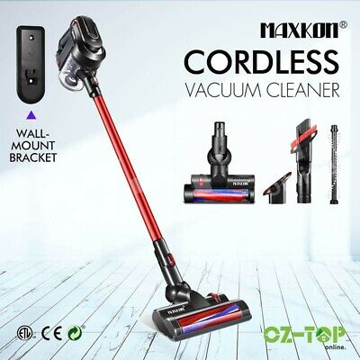 MAXKON Cordless Vacuum Cleaner Handheld 2in1 Upright Stick Carpet Floor Cleaning