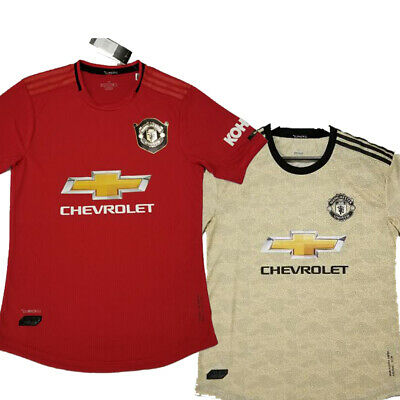Manchester United Mens Jersey Player Version! 19-20 Fast ship! Custom Names!