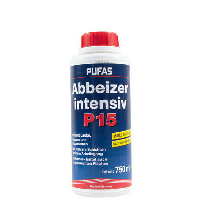 (17,33€/ L)Pufas Abbeizer P15 Intensiv 750ml