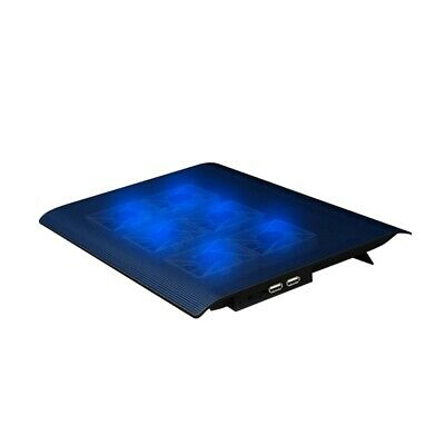 Nuoxi 4 Led High Speed Fans Cooling Pad Notebook Laptop Stand Portable Desk N4V1