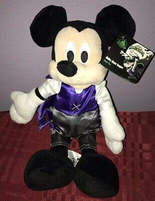 Disney Parks Mickey Mouse Vampire Plush Halloween 2019 NEW