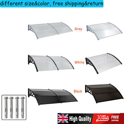 Outdoor Door/Window Canopy Roof Cover Awning Sun Rain Shelter Patio Front Choice