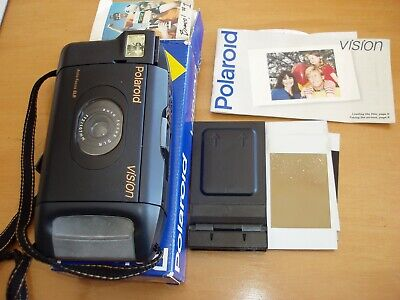 Polaroid Vision Instant Slr Auto Focus Camera In Original Box & Instructions