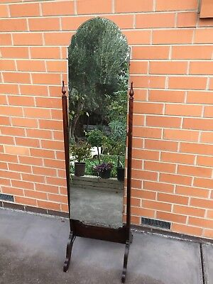 Genuine French Antique Cheval Mirror