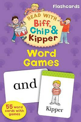 Oxford Reading Tree Read With Biff, Chip, and Kipper Flashcards: Word Games, Rut
