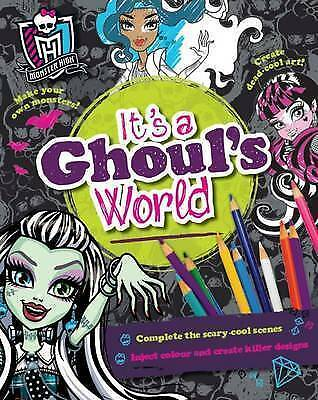 Monster High It's a Ghoul's World (Activity), Parragon Books Ltd, New Book