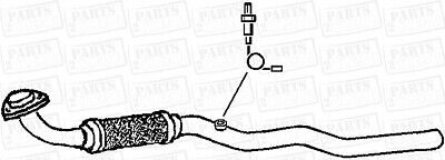 Vauxhall Astra 1.4 16V Hbk W//Obd 01-04 Centre Exhaust Silencer Box OEM Replace