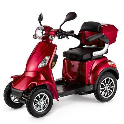 RED 4 Wheel ELECTRIC MOBILITY SCOOTER 1000W 55km travel e-scooter FASTER