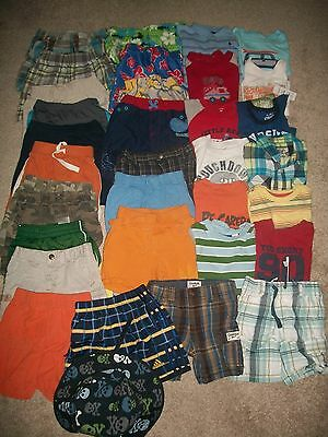 Lot Of 35 Boys Size 12M - 24M Spring Summer Namebrand Gymboree Old Navy Guc!