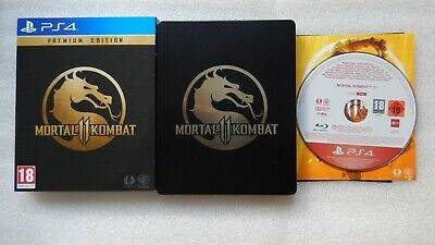 Mortal Kombat 11 PS4 Steelbook + Mortal Kombat 11 PS4 PROMO Promotional Game PS4