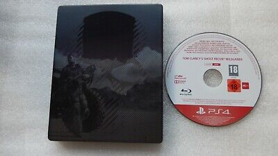 Tom Clancys Ghost Recon Wildlands PS4 Steelbook Exclusive +Ghost Recon PROMO PS4