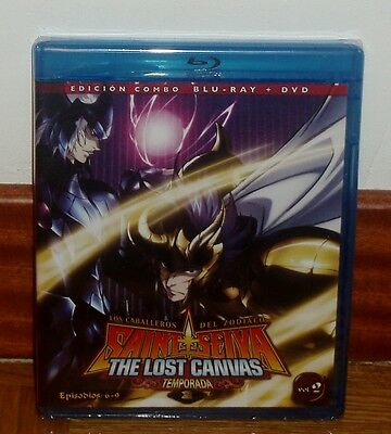 Saint Seiya les Chevaliers Du le Zodiaque Lost Toile 2° -combo Blu-Ray +
