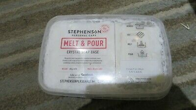 Melt And Pour Crystal  Soap Base Craft Soap Making  1