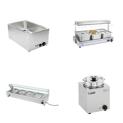 Bain Maries Food Holders Buffet Warmers Soup Stations Various Sizes Gn