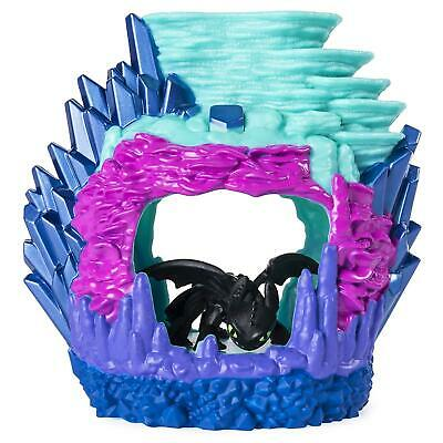 How To Train Your Dragon Hidden World Toothless Light Up Lair Playset