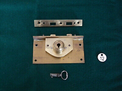 Bramah Writing Slope Lock Keep & Key - Excellent working order