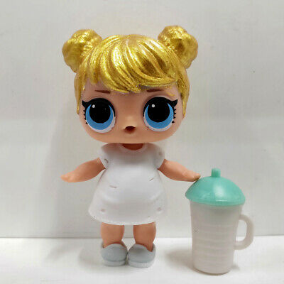 lol surprise doll Big Sister Golden Hair White Dress Kids Birthday Gift Toy Cute