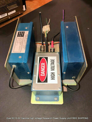 USED Dual RC10-5P Gamma High Voltage Research Power Supply Unit FREE SHIPPING