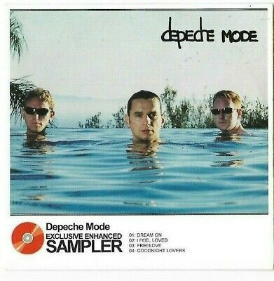Depeche Mode Sampler by Total Music & Daily Mirror - from 'Release' album - CD