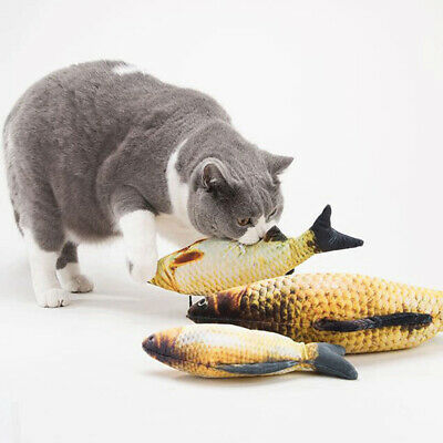 Cat Favor Fish Dog Toys Plush Stuffed Cats Toy Scratching Post For Pet Supplies