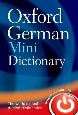 Oxford German Mini Dictionary by Oxford Dictionaries New Flexibound Book