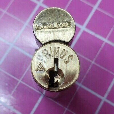 Schlage Primus Everest IC Cylinder Core C145 1-Bitted With Finger Pins Removed