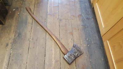 7.5 lb Vintage Felling Axe Reconditioned 19071